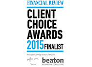 Financial Review Client Choice Awards Finalist 2015